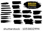 large set different grunge... | Shutterstock .eps vector #1053832994