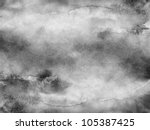 gray scale watercolor texture.... | Shutterstock . vector #105387425