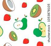 vector illustration. icons.... | Shutterstock .eps vector #1053878105