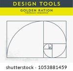vector illustration of golden... | Shutterstock .eps vector #1053881459