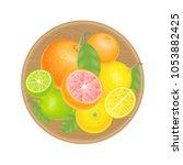 vector illustration. fresh...   Shutterstock .eps vector #1053882425