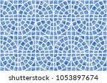 abstract vector seamless... | Shutterstock .eps vector #1053897674