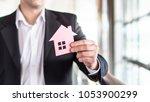 architect  banker  realtor ... | Shutterstock . vector #1053900299