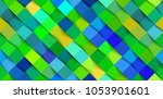 abstract 3d colorful geometric... | Shutterstock .eps vector #1053901601