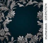 floral seamless pattern... | Shutterstock .eps vector #1053927074