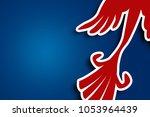 bird pattern background | Shutterstock . vector #1053964439