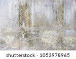 grunge cement texture... | Shutterstock . vector #1053978965