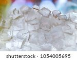 close up ice cube | Shutterstock . vector #1054005695