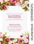 Spring Background Invitation...