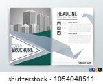 abstract background design ... | Shutterstock .eps vector #1054048511