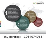 infographic template for your... | Shutterstock .eps vector #1054074065