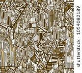vector seamless pattern... | Shutterstock .eps vector #1054082189