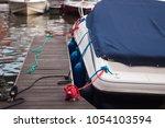 A Modern Motor Boat Windshield...