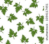 seamless vector pattern with... | Shutterstock .eps vector #1054117451