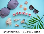 beautiful picture greeting card ... | Shutterstock . vector #1054124855