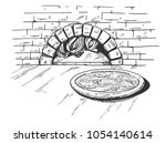 vector illustration of a... | Shutterstock .eps vector #1054140614