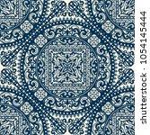 vector damask seamless pattern | Shutterstock .eps vector #1054145444