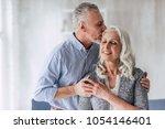 love lives forever  senior... | Shutterstock . vector #1054146401