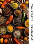 cooking ingredient  spice | Shutterstock . vector #1054157969