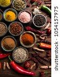cooking ingredient  spice | Shutterstock . vector #1054157975