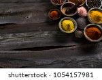 cooking ingredient  spice | Shutterstock . vector #1054157981