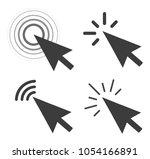 computer mouse click cursor.... | Shutterstock .eps vector #1054166891