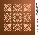 background of round patterns  | Shutterstock .eps vector #1054209275