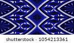 geometric folklore ornament.... | Shutterstock .eps vector #1054213361