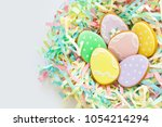 sweets for celebrate easter.... | Shutterstock . vector #1054214294