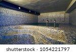 interior of luxury turkish bath ... | Shutterstock . vector #1054221797