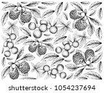 berry fruit  illustration...   Shutterstock . vector #1054237694