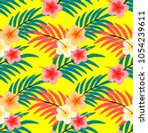 seamless pattern vector of... | Shutterstock .eps vector #1054239611