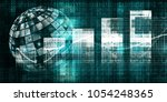 disruptive technologies and... | Shutterstock . vector #1054248365