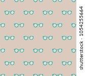 seamless pattern  glasses art  ...   Shutterstock .eps vector #1054255664