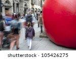 exeter   june 15  passersby... | Shutterstock . vector #105426275