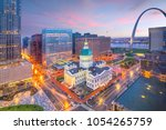 St. Louis Downtown Skyline At...