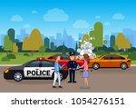 car accident or crash ...   Shutterstock .eps vector #1054276151