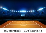 basketball arena field with... | Shutterstock .eps vector #1054304645
