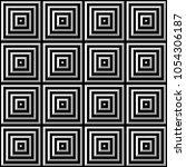 seamless black and white vector ...   Shutterstock .eps vector #1054306187