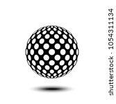 abstract design element  sign ...   Shutterstock .eps vector #1054311134