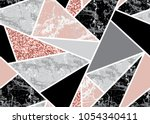 marble seamless background with ... | Shutterstock .eps vector #1054340411