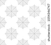 spider web icon seamless... | Shutterstock .eps vector #1054346747