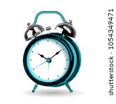 alarm clock polygonal triangle...   Shutterstock .eps vector #1054349471