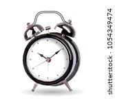 alarm clock polygonal triangle... | Shutterstock .eps vector #1054349474
