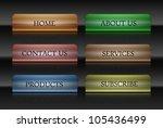 navigation buttons | Shutterstock .eps vector #105436499