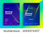 minimal covers design with... | Shutterstock .eps vector #1054372457