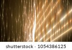 abstract vertical gold... | Shutterstock . vector #1054386125