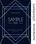 blue elegant design template... | Shutterstock .eps vector #1054396451