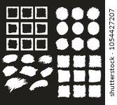big set of hand drawn frames... | Shutterstock .eps vector #1054427207