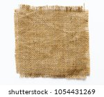 burlap fabric patch label ... | Shutterstock . vector #1054431269